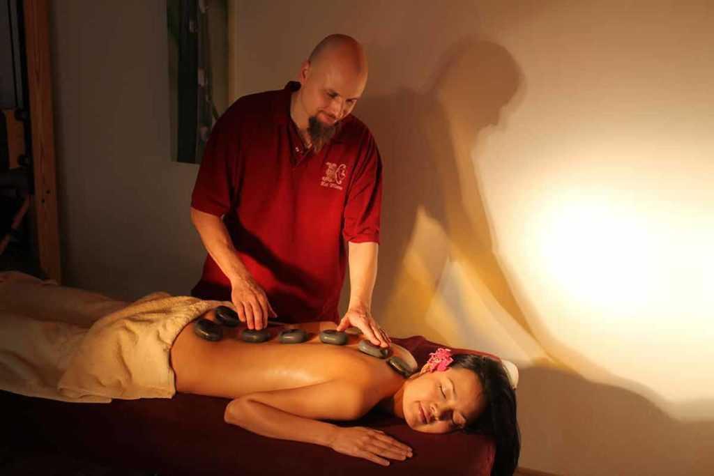 Hot Stone Massage Wellness Beauty